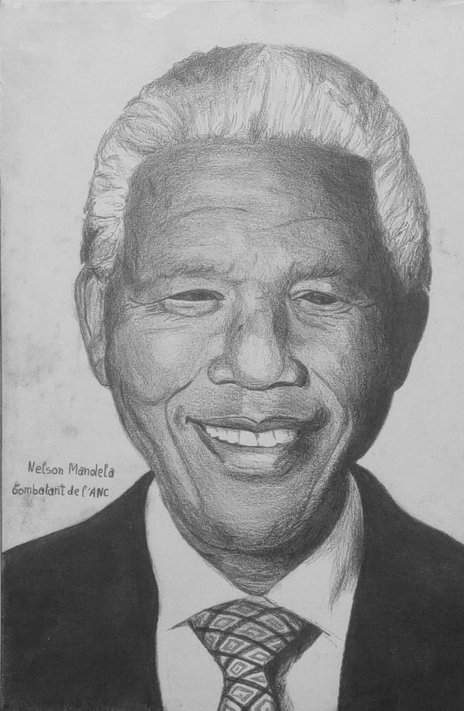 Nelson Mandela by Cisko